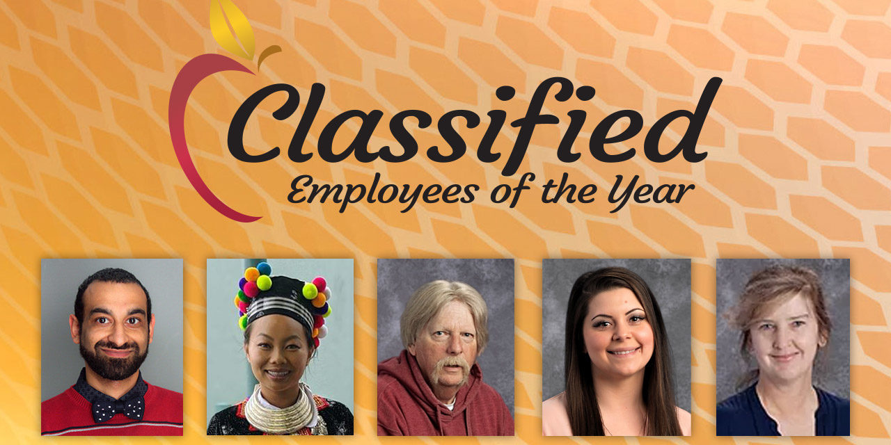 Classified School Employees of the Year Recognized