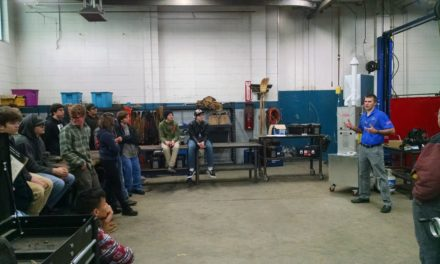 EHS Students Visit Evans Mechanical