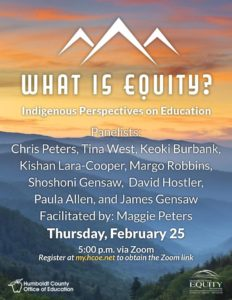 Flyer for the What is Equity event