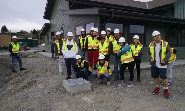 East High Students Visit DCI Builders Worksite