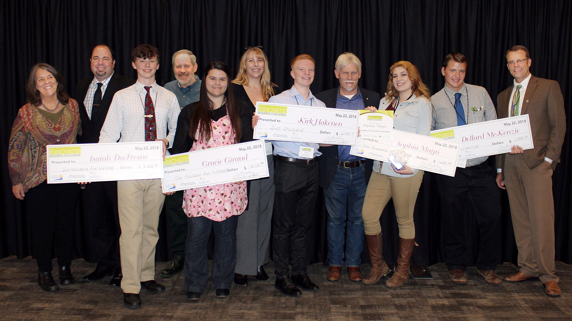 Sixth Annual INNOVATE! Business Challenge Awards Youth Start-ups