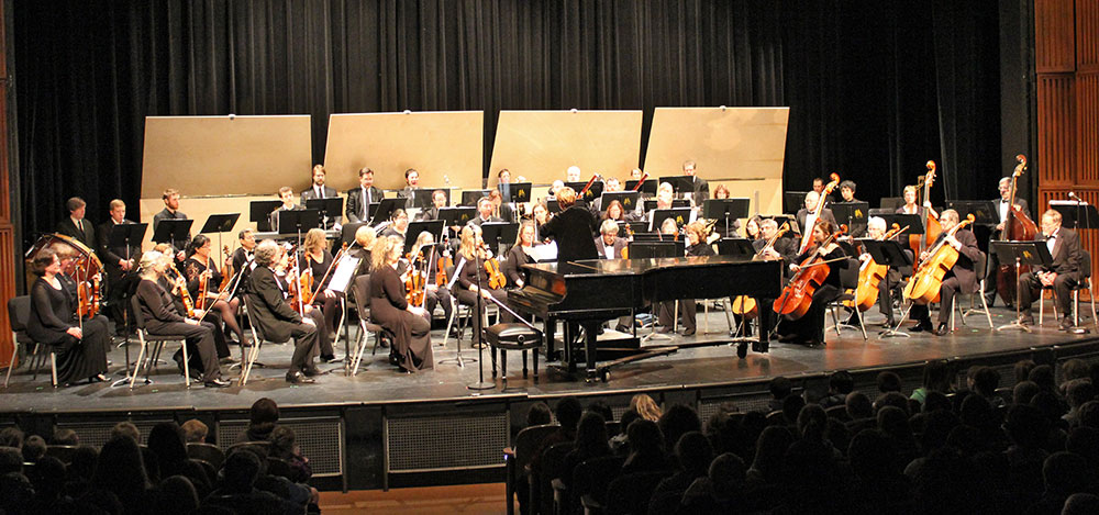 Photo of an orchestra