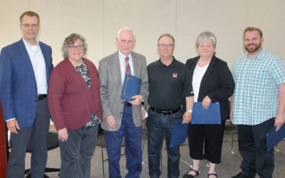 Classified School Employees of the Year Honored by Board of Education