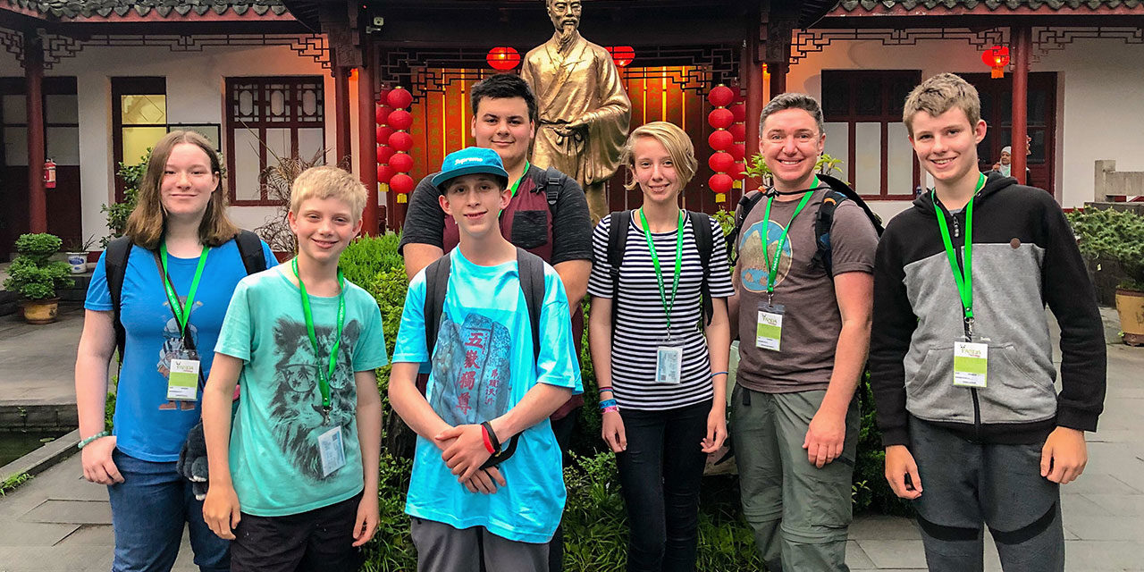 Peninsula Eighth Graders Go To China