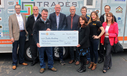 Mad River Rotary Supports HCOE Trades Academy