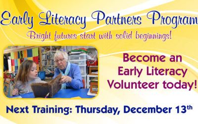 Early Literacy Volunteer Training December 13